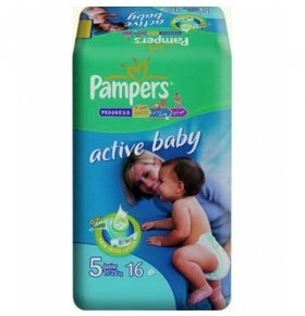 Памперсы Baby Dry Air Care Junior 16шт/уп