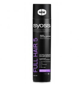 Лак для укладки Syoss Full Hair 5 400мл