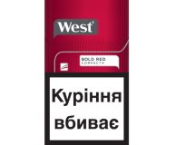 Сигареты West Compact Bold Red 1пачка