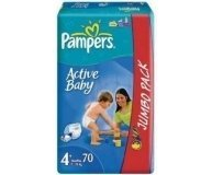 Подгузники Pampers Maxi Jumbo Pack 70шт/уп