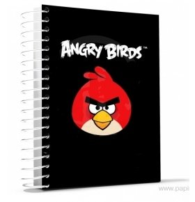 Блокнот Cool FOR school Angry Birds А5 черн.150лис 1шт
