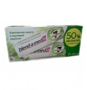 Паста зубная Blend-a-Med Complete Herbal 2*100мл