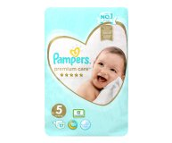 Подгузники Premium Care Junior 11-16 кг Pampers 17 шт