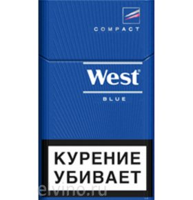Сигареты West Compact Blue 1пачка