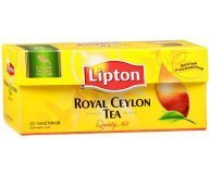 Чай черный Lipton Royal Ceylon байховый 25*2г/уп