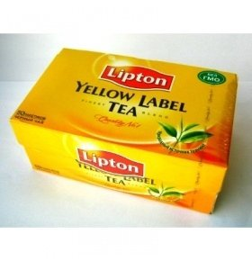 Чай Lipton Yellow Label 50*2г