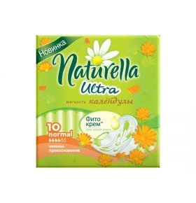 Прокладки Naturella Ultra Calendula Normal Single 10шт/уп