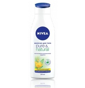 Молочко Nivea Pure&Natural  250мл