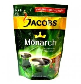 Кофе растворимый Jacobs Monarch сублимир. экон.пак 220г