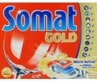 Таблетки для посудом машин Somat Gold Micro Active 66шт/уп