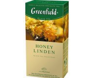 Чай черный Greenfield Honey Linden 25*1,5г/уп