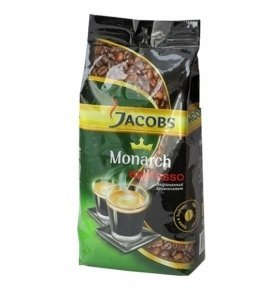 Кофе зерно Jacobs Monarch Espresso 250г