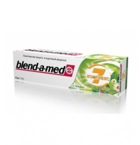 Паста зубная Blend-a-med Complete+Herbal 100мл
