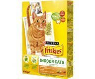 Корм д/котов Friskies Indoor курица-овощ-трава сух 270г