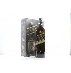 Виски Johnnie Walker Double Black подароч набор 0,7л