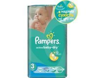 Подгузники Pampers Active Baby-Dry Midi 4-9кг 58шт/уп