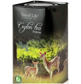 Чай черный Tea of Life FPekoe байховый 100г