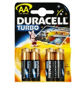 Батарейка Duracell MX 1500 04 Turbo AA 4шт/уп