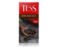 Чай черный Tess breakfast 25 шт х 1,8 гр
