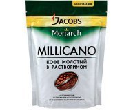 Кофе раств Jacobs Monarch Millicano натур экон.пак 38г