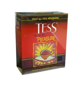 Чай черный Tess Pleasure 90г