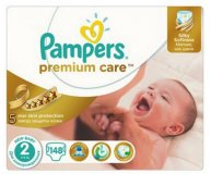 Подгузники Pampers Premium Care New Baby 3-6 кг 148 шт