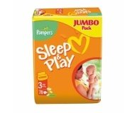 Подгузники Pampers Sleep&Play Jumbo Midi 78шт/уп