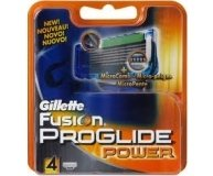 Картридж д/брит Gillette Fusion Proglide Power 4шт/уп