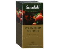 Чай черный Greenfield Strawberry Gourmet 25*1,5г/уп
