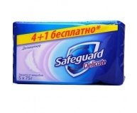 Мыло Safeguard Деликатное 5*75г