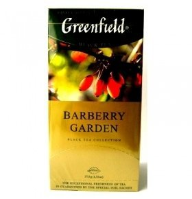 Чай Greenfield Barberry Garden 25*1.5г