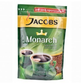 Кофе растворимый Jacobs Monarch эконом.пакет 70г