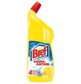 Гель для туалета Bref WC Cleaner Цитрус 750мл