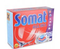 Таблетки для ПММ Somat All in 1 28+28шт/уп