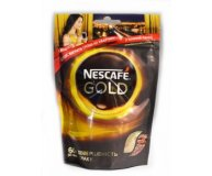 Кофе растворимый Nescafe Gold мягкая упаковка 60г