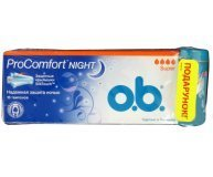 Тампоны О.b. ProComfort Night Super+футляр подар 16шт/уп