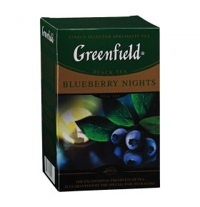Чай черный Greenfield Blueberry Nightsl 100г