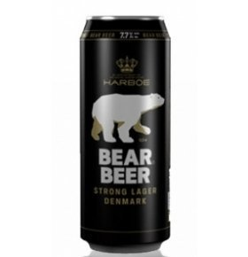 Пиво Harboe Bear Beer 7,7% ж/б 0.5л