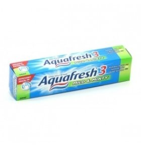 Паста зубная Aquafresh Total Care Mild&Minty 50мл