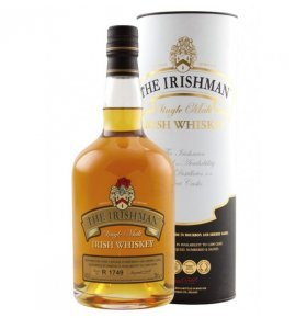 Виски The Irishman Single Malt в тубусе 0,7л