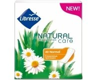 Прокладки LIBRESSE Natural Care Normal  40шт/уп