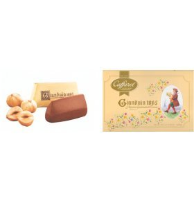 Конфеты Caffarel Gianduia 1865 КласБалотин мол.шок 200г