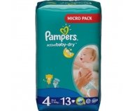 Подгузники Pampers Active Baby-Dry Maxy 7-14кг 13шт/уп