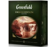 Чай черный в пакетиках Greenfield English Edition 100 шт х 2 гр