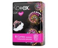 Прокладки Kotex Lux Soft Super 8шт/уп