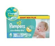 Подгузники Pampers Active Baby-Dry Maxi 7-14кг 106шт/уп