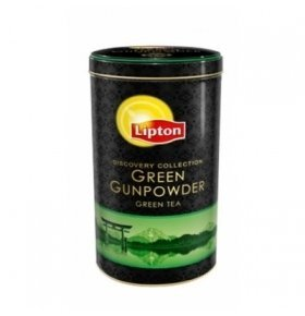 Чай зелений Lipton Green Gunpowder ж/б 100г