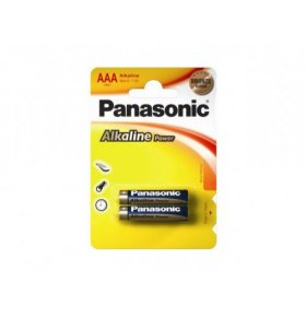 Батарейки Panasonic Аlkaline Power ААА 2шт/уп
