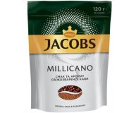 Кофе растворимый Jacobs Monarch Millicano эконом пак 120 гр
