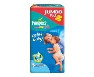 Подгузники Pampers Junior Jumbo Pack 58шт/уп